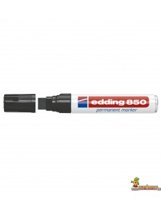 Edding 850 rotulador de punta biselada negro