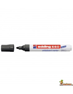 Edding 660 Rotulador para pizarra negro