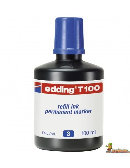 Edding T100 Tinta para rellenar rotuladores 100ml