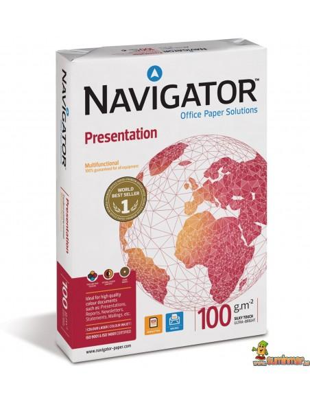 500hojas A4 100g Navigator Presentation Papel multifunción