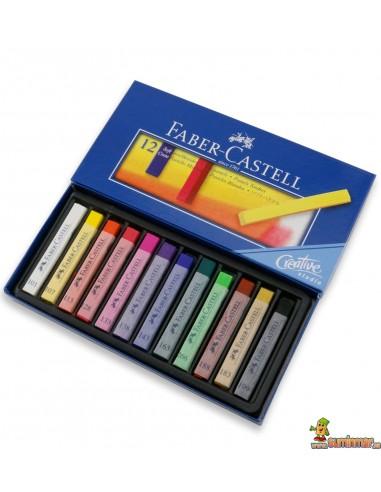 Pasteles blandos Faber Castell 12 uds
