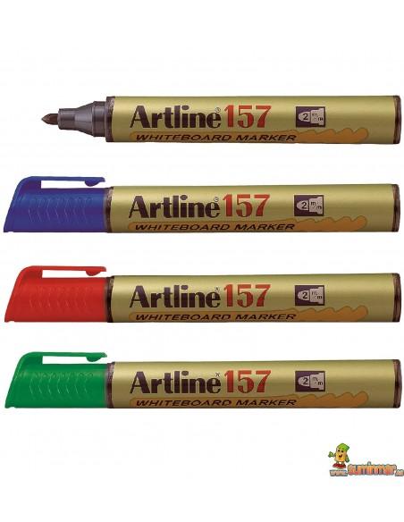 Artline EK-157 rotulador de punta redonda para pizarra