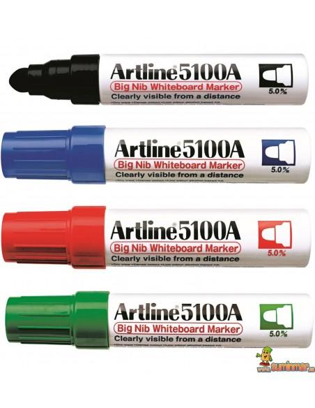 Artline EK-5100A Rotulador de punta redonda para pizarra