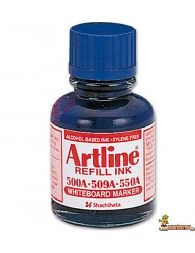 Tinta Artline de recarga para rotuladores de pizarra