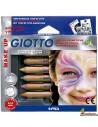 Lápices Pintacaras Giotto Make Up Set 6 Colores Fantasía