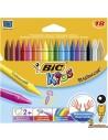 Ceras Plastidecor para niños, 18 colores