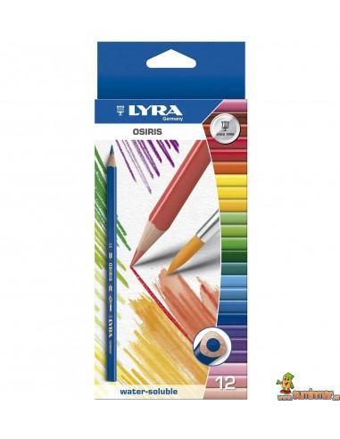 LYRA Osiris Aquarell Caja de 12 Lápices de Colores Acuarelables