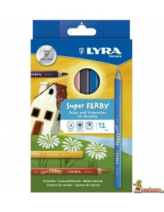 Lyra Super Ferby Caja de 12 Lápices de Colores