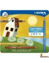 LYRA Super Ferby Caja de 18 Lápices de Colores