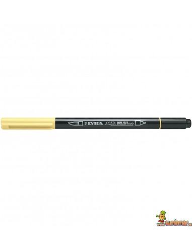 LYRA Aqua Brush Duo Rotulador de doble punta Amarillo crema