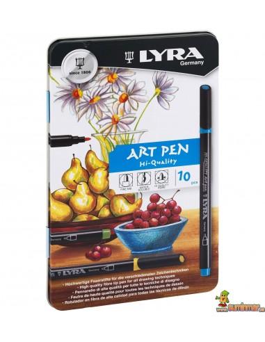 LYRA Hi Quality Art Pen 10 Rotuladores Acuarelables