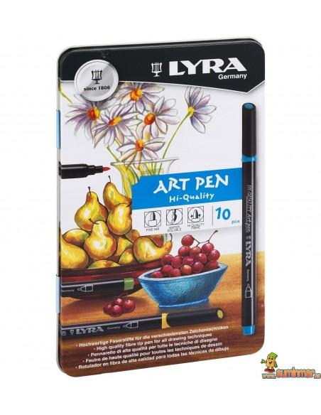 LYRA Hi Quality Art Pen Rotuladores Acuarelables