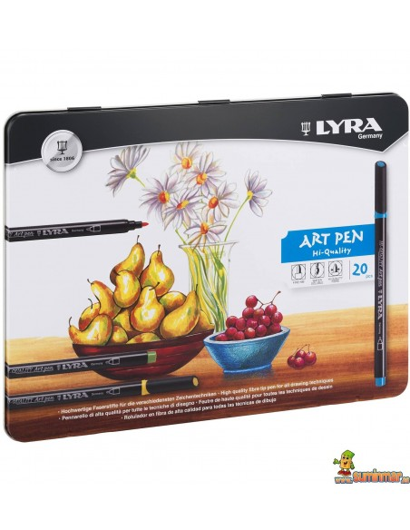 Rotuladores Acuarelables LYRA Hi-Quality Art Pen