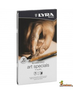 Set lápices artísticos LYRA Rembrandt Art Specials 12 lápices