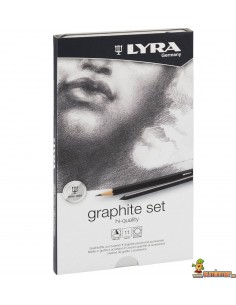 Set de lápices de grafito LYRA Rembrandt Art Specials 11 piezas