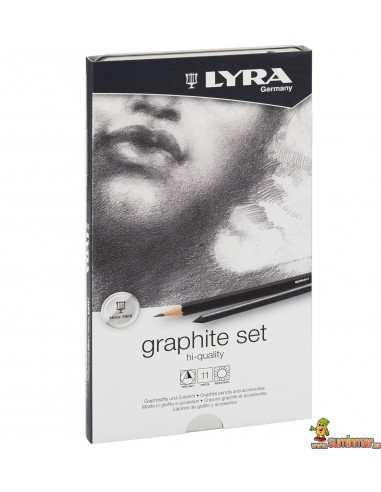 Set de lápices de grafito LYRA Rembrandt Art Specials 11 piezas