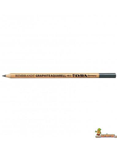 Lápiz de grafito acuarelable LYRA Rembrandt HB/2