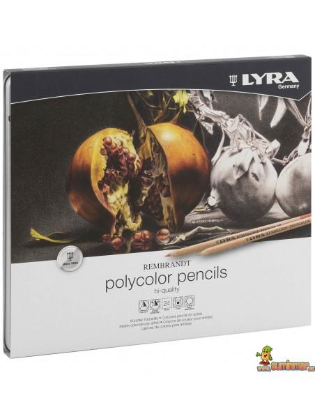 Lápices policromos LYRA Rembrandt Polycolor en caja