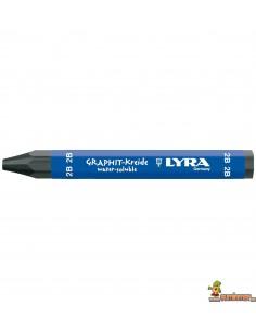 Cera de grafito LYRA acuarelable para dibujo 2B
