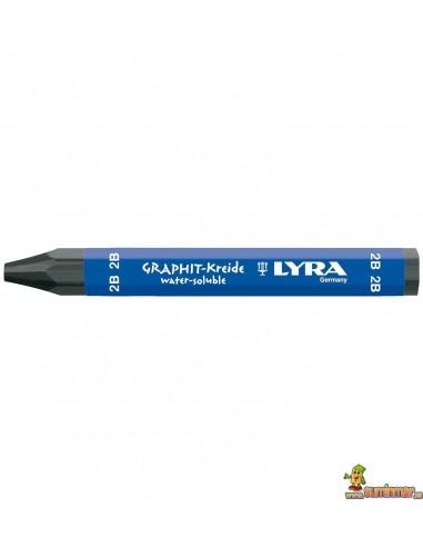 Cera De Grafito LYRA Acuarelable 2B