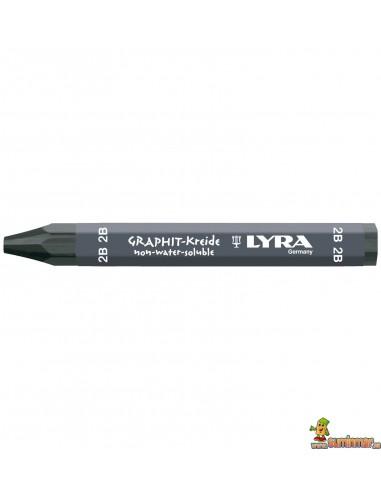 Cera de Grafito LYRA para dibujo 2B