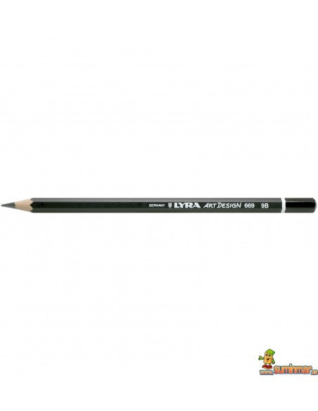 Lápiz de grafito LYRA Art Design para dibujo profesional