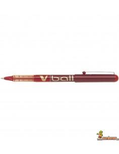Bolígrafo Pilot VBall 0.7 mm rojo