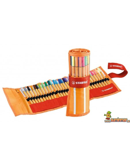 Stabilo Point 88 Rollerset 30 colores (25 + 5 Neon)