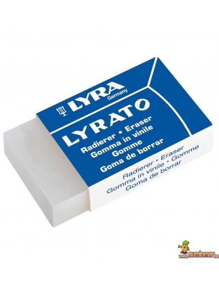 Goma LYRA Lyrato. Goma de vinilo