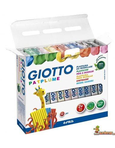 Giotto Patplume plastilina 12 x 350g