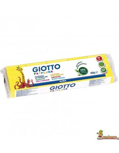 Giotto Patplume plastilina 350g amarillo