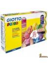 Plastilina Giotto Pongo Soft 16 x 250g colores surtidos
