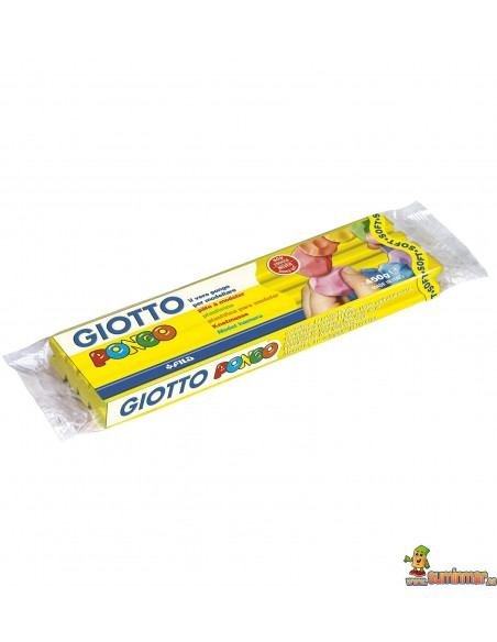 Plastilina Giotto Pongo Soft 450g