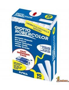 Tizas blancas Giotto Robercolor 10 uds