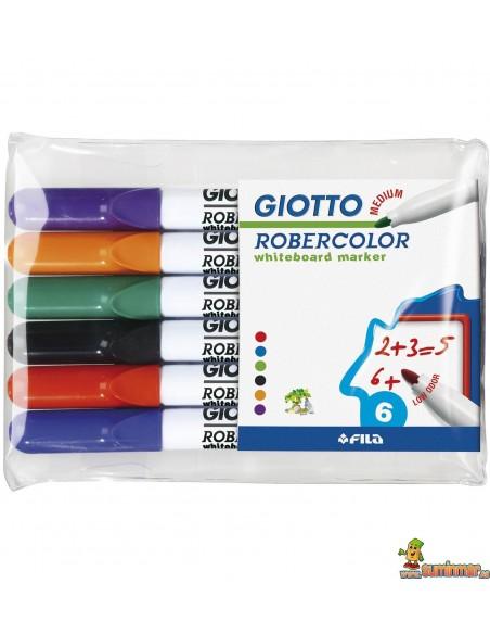 Pack Rotulador pizarra Giotto Robercolor punta media