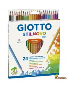 Giotto Stilnovo Tri Lápices de colores 24 ud