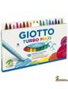 Giotto Turbo Maxi Rotulador para niños 18 colores