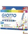 Rotuladores Giotto Giant 12 uds