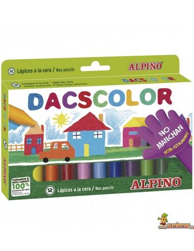 Ceras Alpino Dacscolor 12 colores