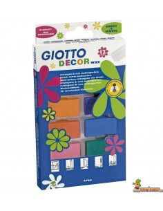 Giotto Decor Wax Cera multisuperficie para decorar