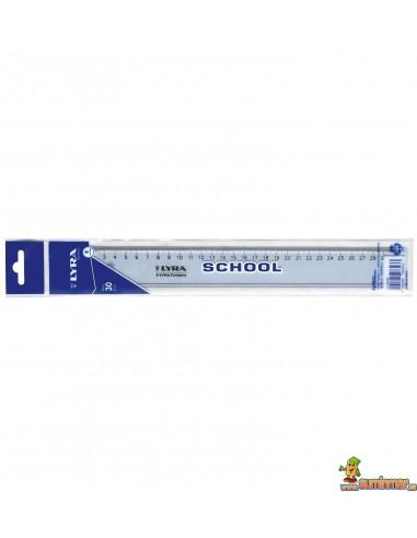 Regla escolar LYRA School 30 cm
