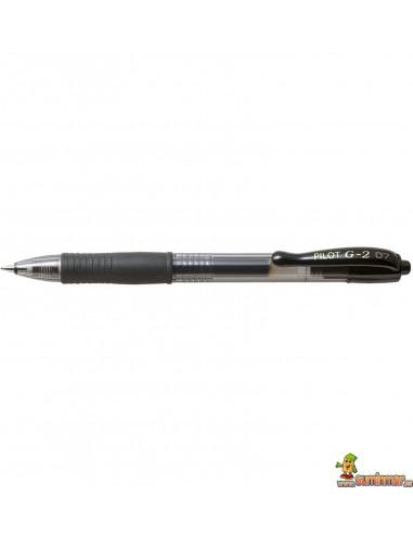 Bolígrafo Pilot G2 0,7 mm negro