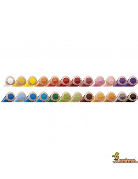 Bote de lápices de colores LYRA Groove Slim 48 uds