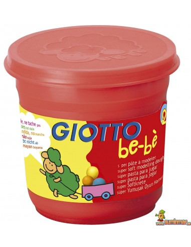 Plastilina Giotto be-bè 220g rojo
