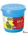 Plastilina Giotto be-bè 220g azul cyan