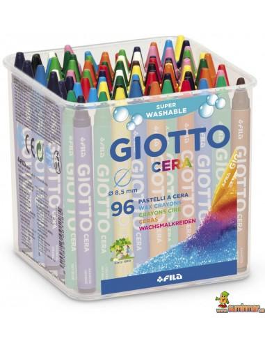 Giotto Cera Schoolpack 96 ud