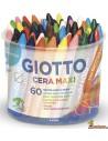 Giotto Cera Maxi Schoolpack 60 ud
