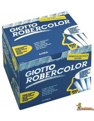 Giotto Robercolor 100 ud schoolpack blanco