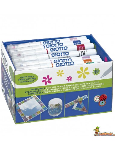 Giotto Decor Materials rotulador universal Schoolpack 48 uds