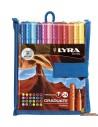 LYRA Graduate Fineliner Estuche de rotuladores 24 ud